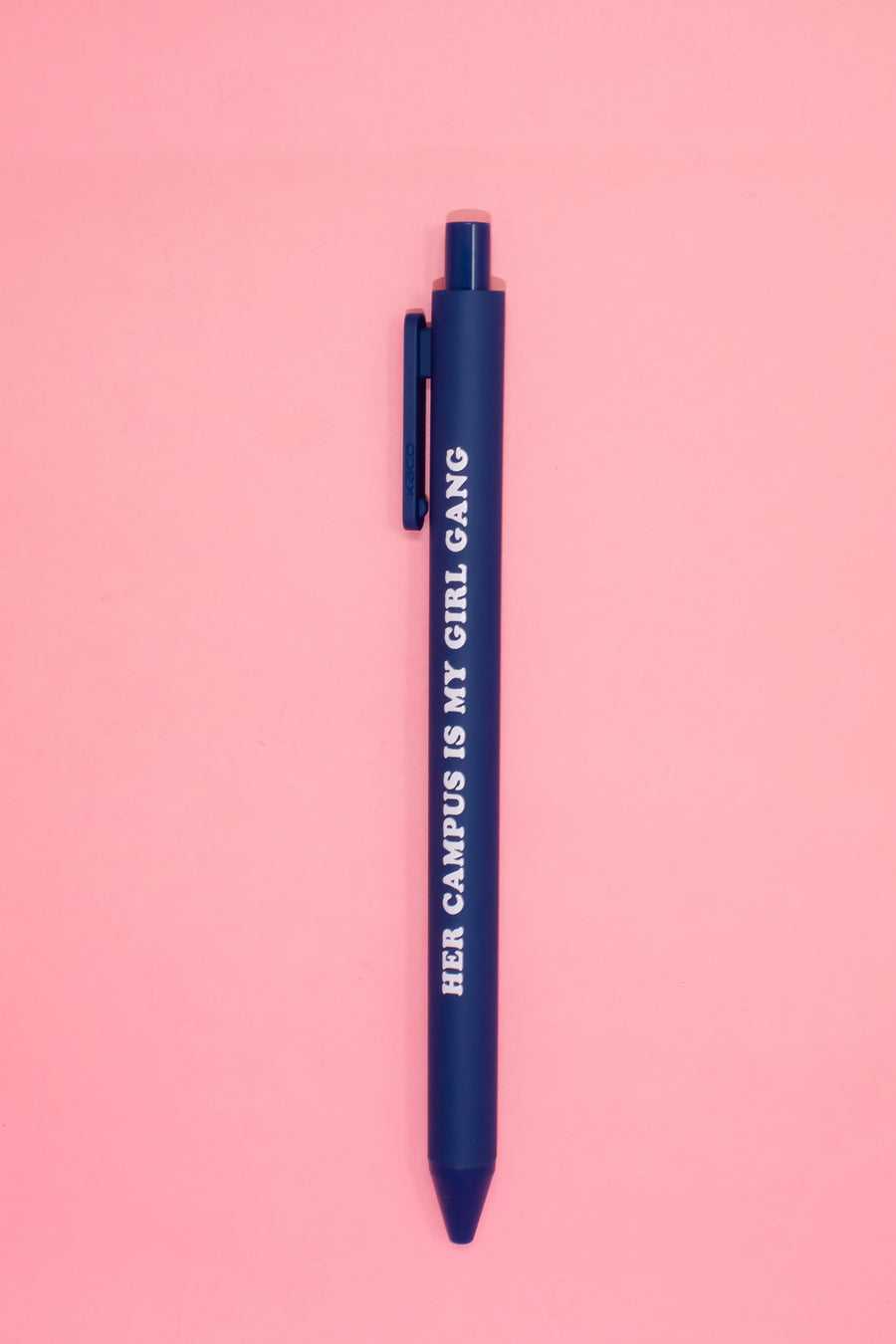 Her Campus Girl Gang Pen - Navy