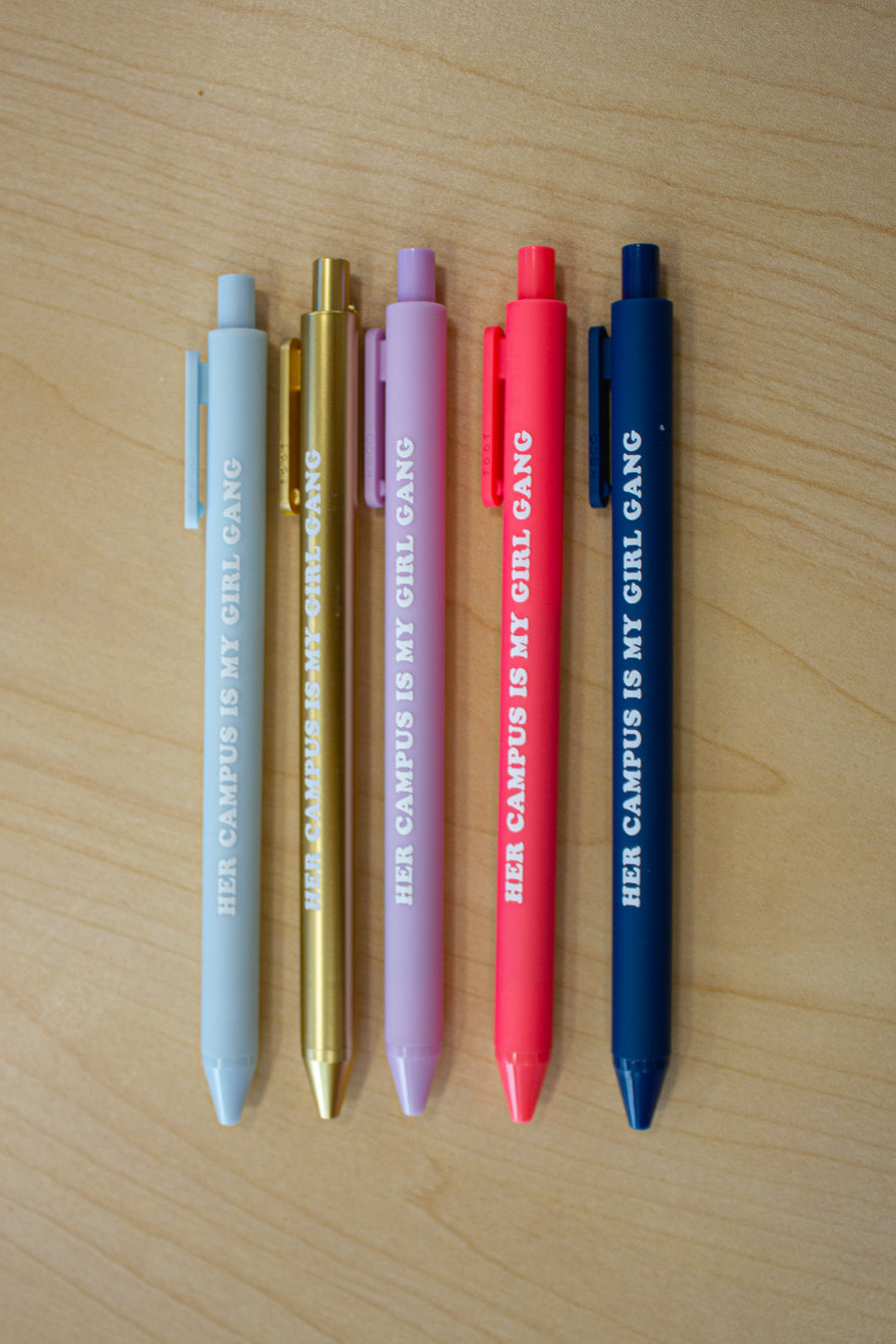 Her Campus Girl Gang Pen - Coral
