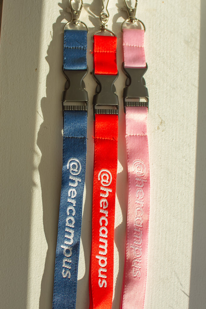 @hercampus Lanyard - Red