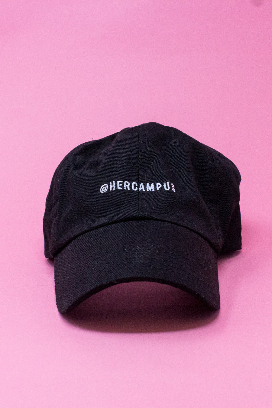 @HERCAMPUS Baseball Cap - Black