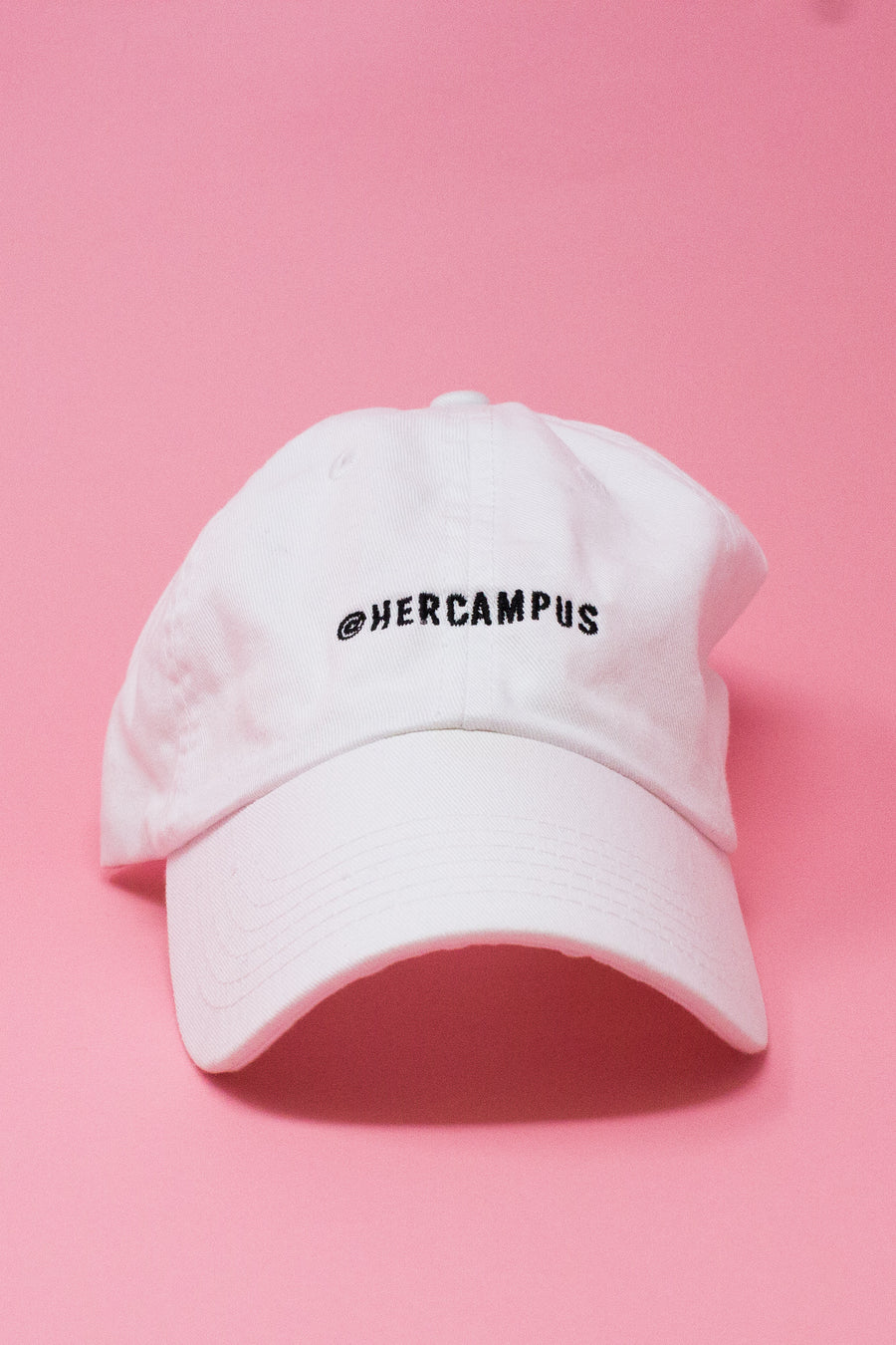 @HERCAMPUS Baseball Cap - White