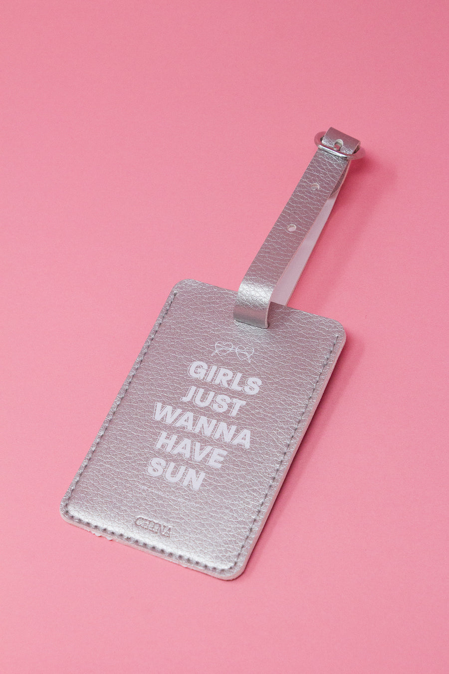Girls Just Wanna Have Sun Luggage Tag