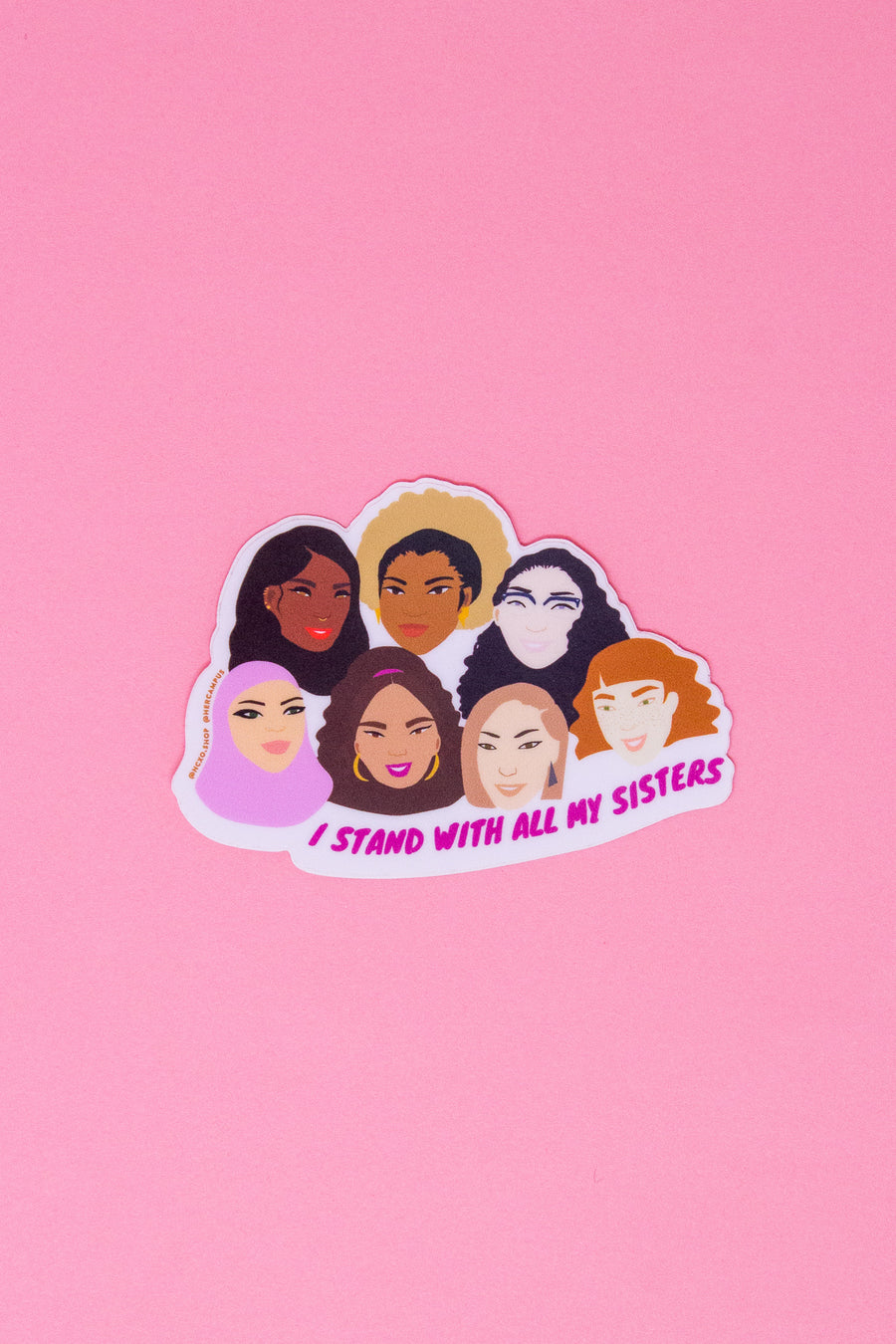 Stand With My Sisters Sticker