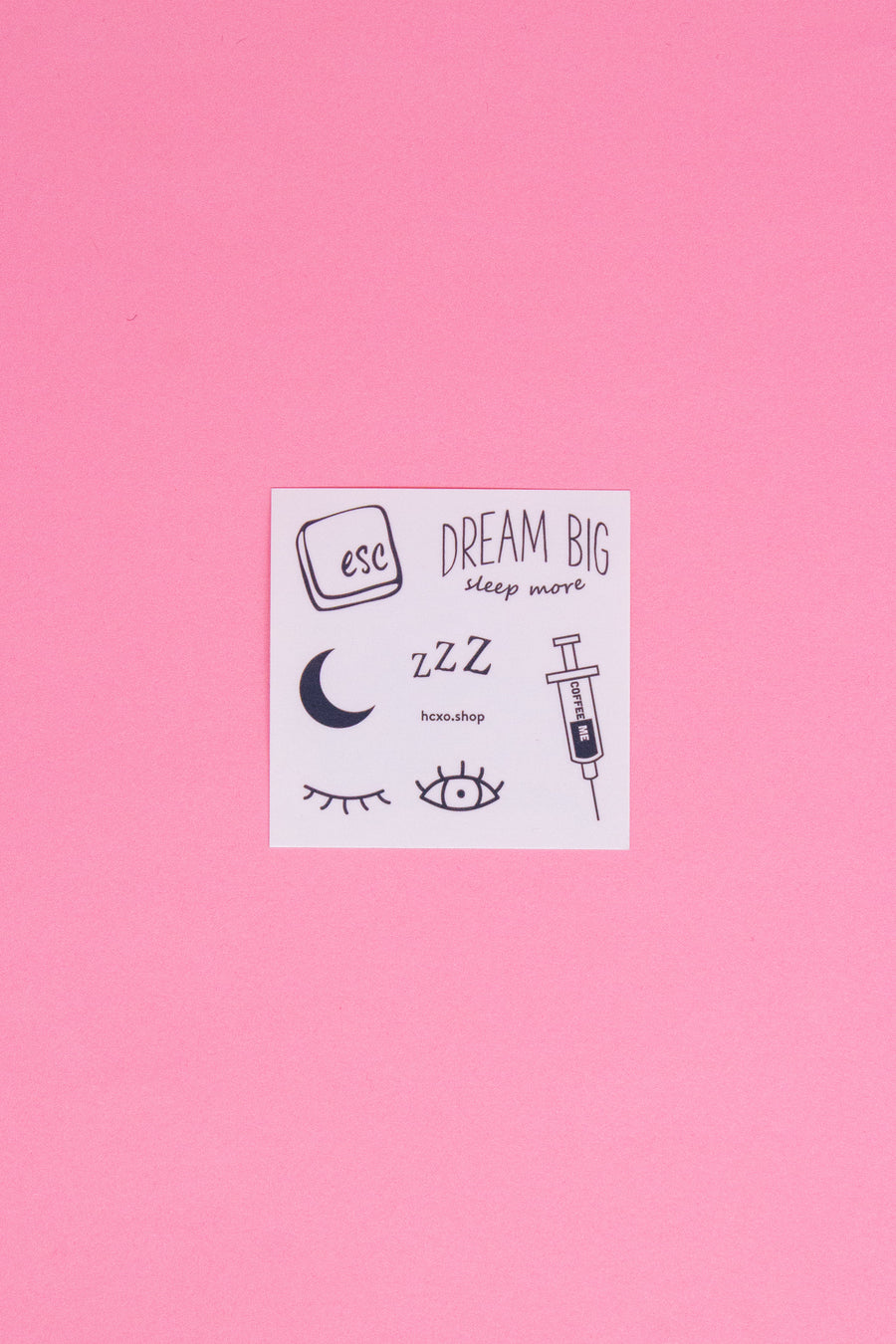 Sleepy Girl Temporary Tattoos