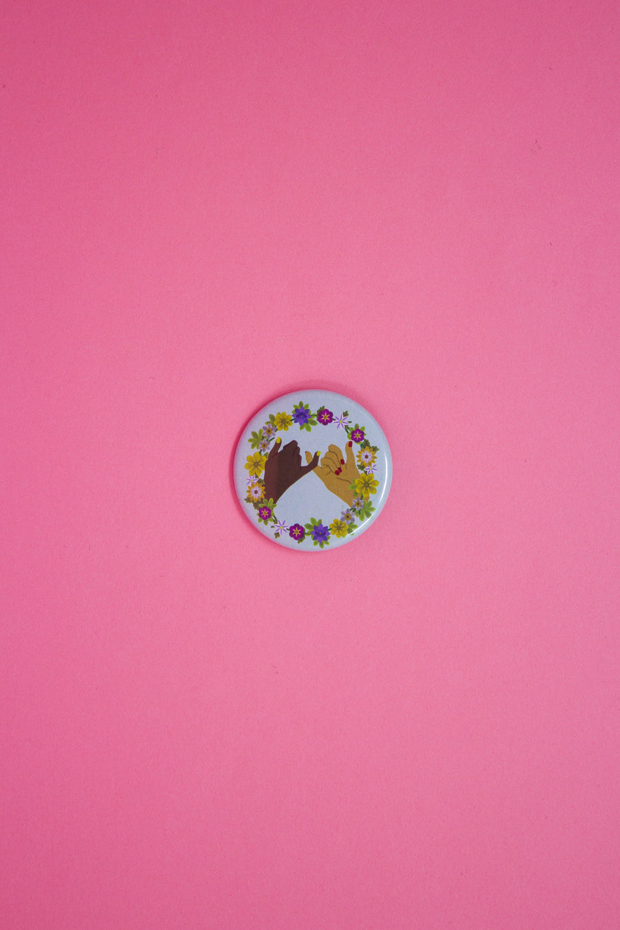 Pinky Swear Button