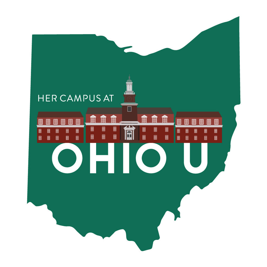 HC Ohio University Custom Stickers