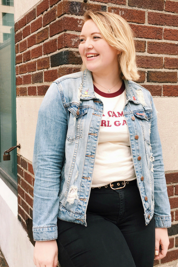 Her Campus Girl Gang Ringer Tee