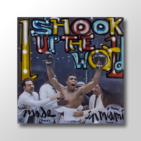 Shook The World - Limited Edition - Art Bond - shop.leboart.com
