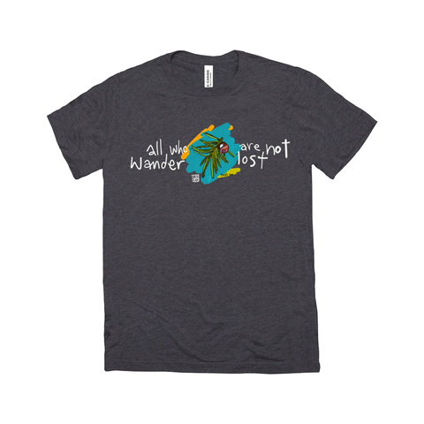 All Who Wander v2 (Cascades) – T-Shirts