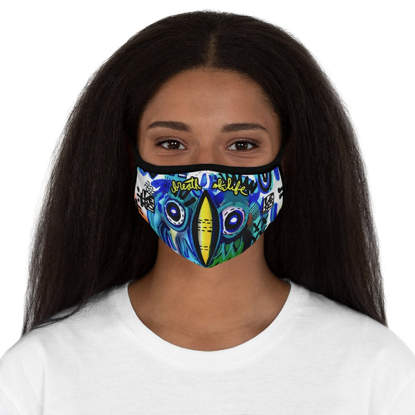 We are Ancient Aliens  - Breath of Life - Fitted Polyester Face Mask