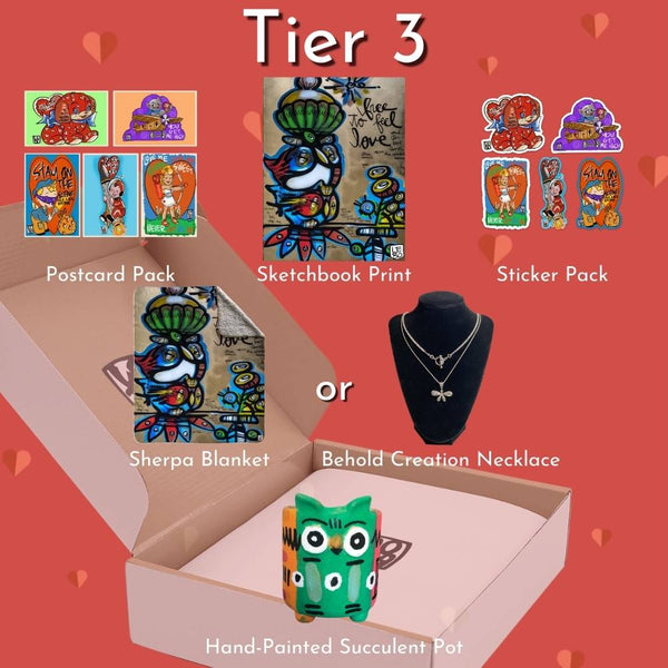 Valentine Box Tier 3 - Timed Release - Lebo Magical Box