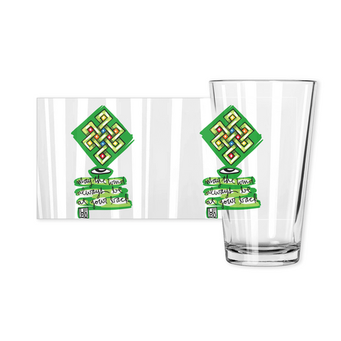 May the Wind Always be at Your Back - Lebo Pint Glasses