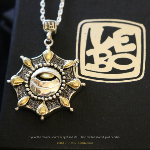 Eye of the creator - Source of Light and Life - Limited Edition - Lebo Necklace