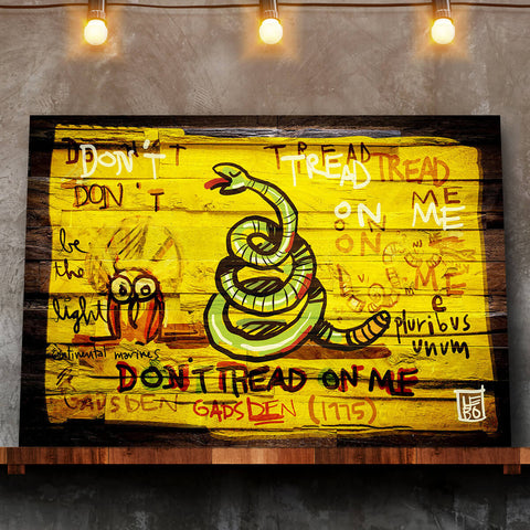 Don't tread on me - Mineral Print - shop.leboart.com