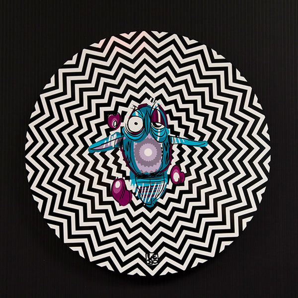 Through frequency and Vibration - Limited Edition - Spinner Art