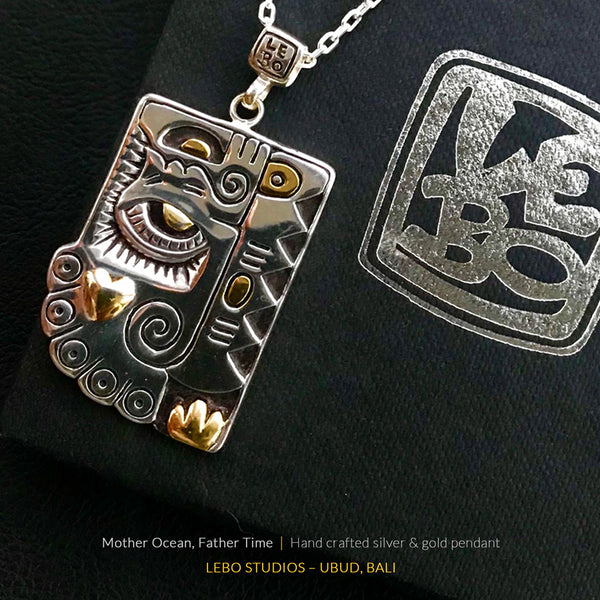 Mother ocean, Father Time - Limited Edition - Lebo Necklace