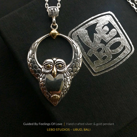 Guided By Feelings Of Love - Limited Edition - Lebo Necklace