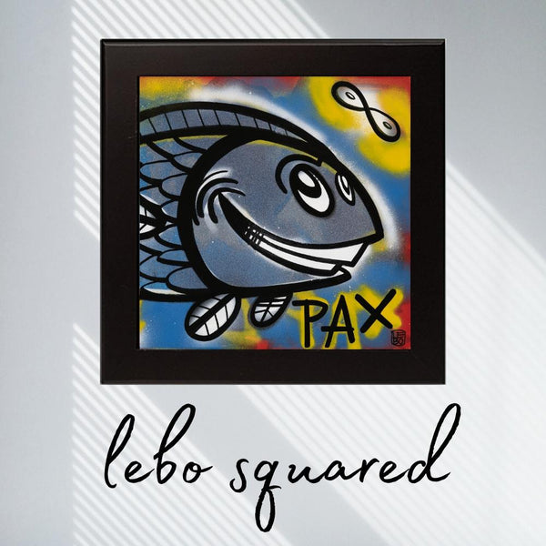 Pax (a life aquatic) - Lebo Framed Ceramic Tile