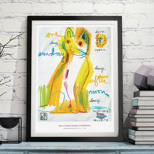 On a Lovely Sunday Afternoon - Special Edition - Poster - shop.leboart.com