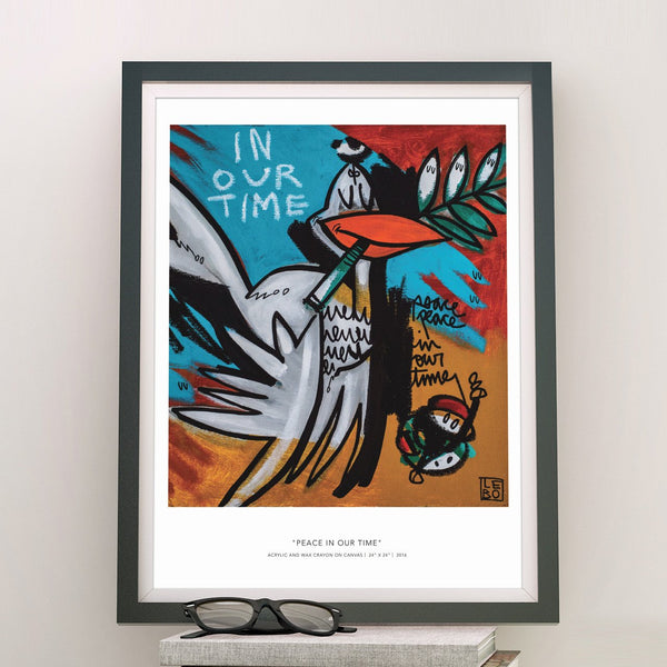Peace in our Time - Special Edition - Poster - shop.leboart.com