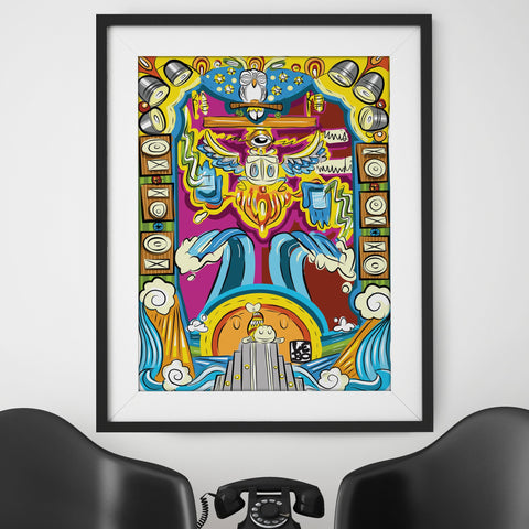 One Steady Vibration - Special Edition - Poster - shop.leboart.com