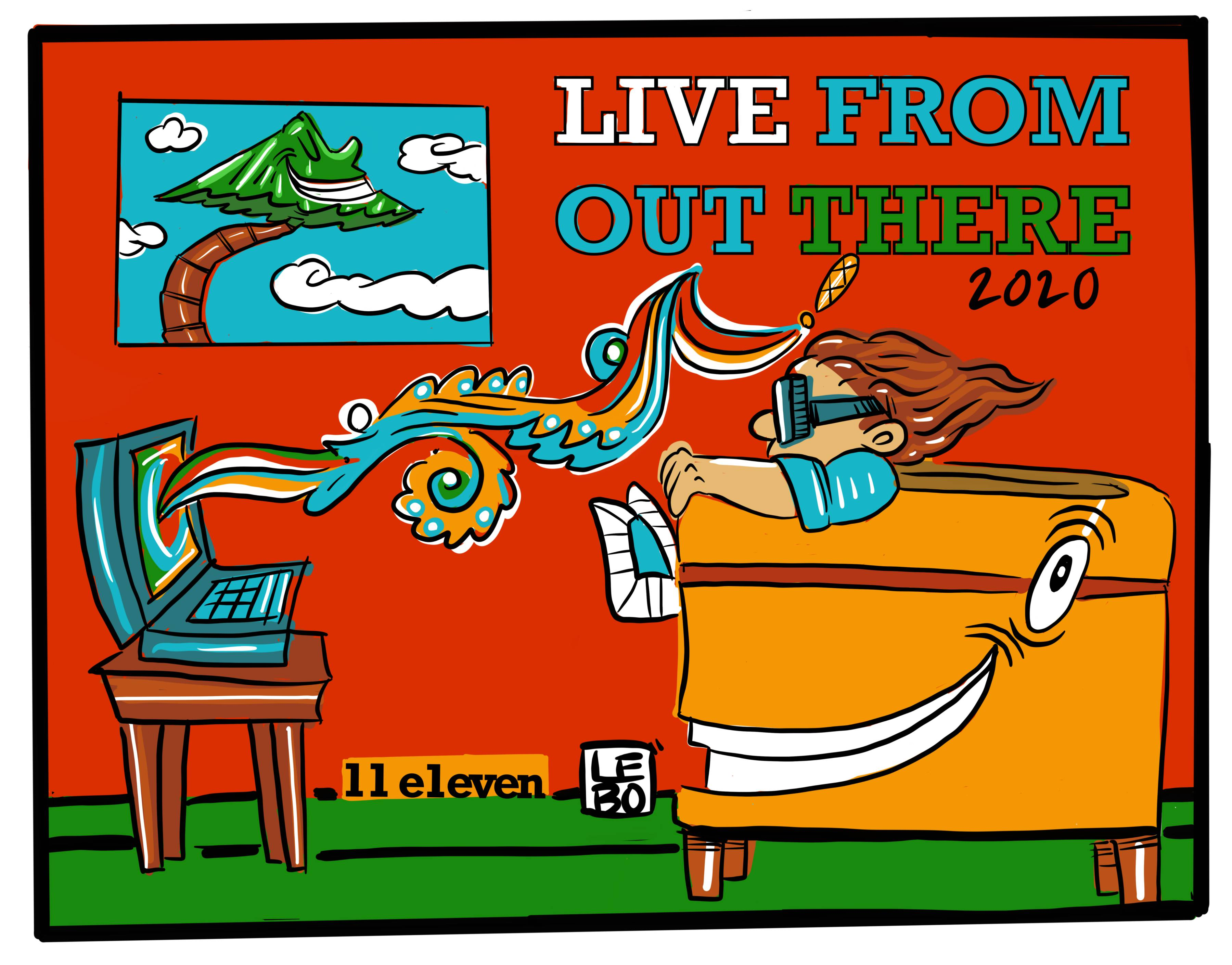 Live From Out There - Lebo Collaboration - Poster