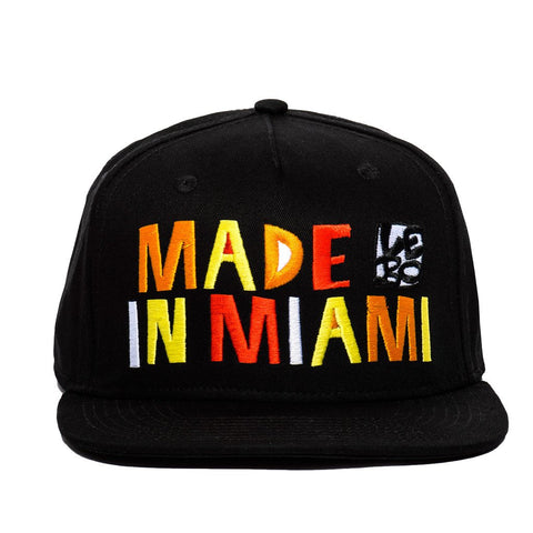 Made In Miami - Snapback Hat - shop.leboart.com