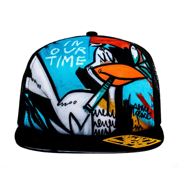 Peace in our Time - Trucker Hat - shop.leboart.com