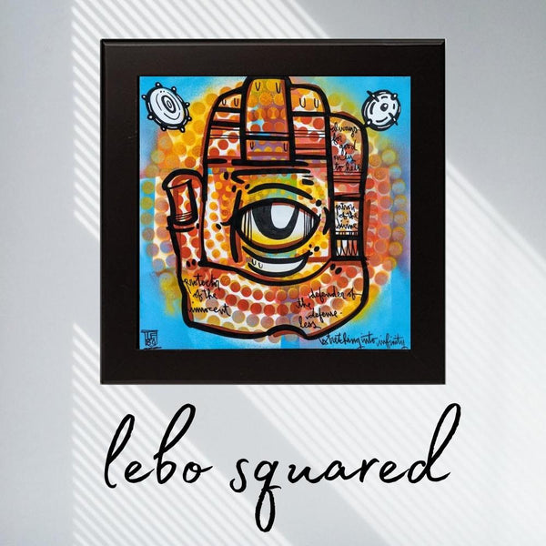 Protector of the Innocent (Guided by intuition) - Lebo Framed Ceramic Tile