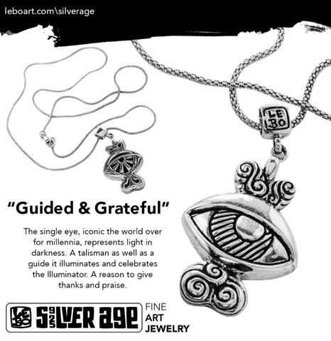 Guide & Grateful - Limited Edition - Silver Necklace - shop.leboart.com
