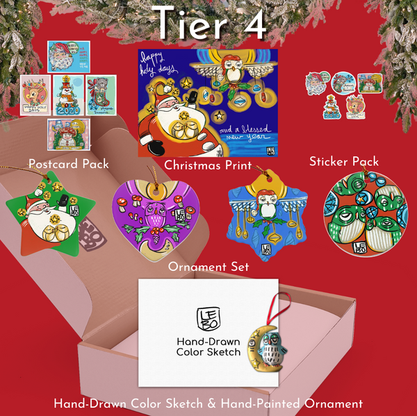 Tier 4 - Lebo Magical Christmas Box