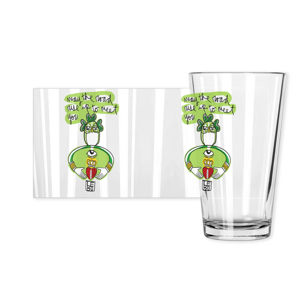 May the Road Rise up to Meet You - Lebo Pint Glasses