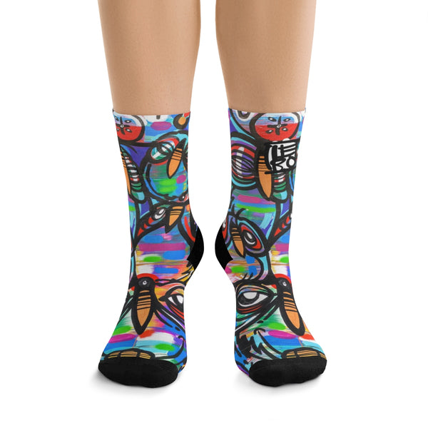 Between Our Heartbeats – Lebo Tribe Socks