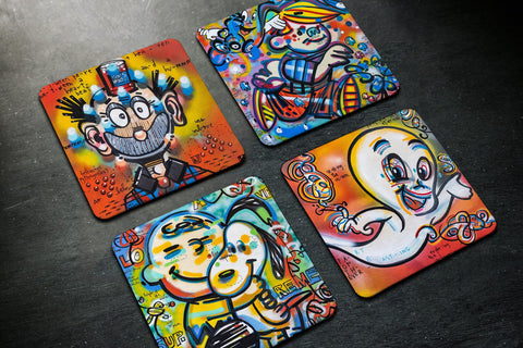 National Comic Book Day - Coasters - shop.leboart.com