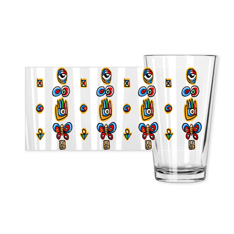 Through the Ages - Lebo Pint Glass