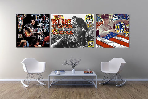 Elvis Series - Art Bonds - shop.leboart.com
