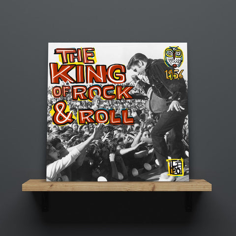 The King Of Rock & Roll - Mineral Print - shop.leboart.com