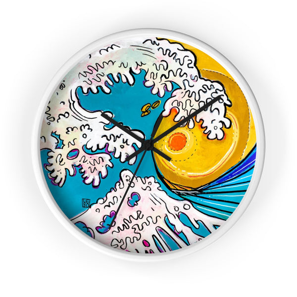 Long Wave Home – Lebo Wall clock