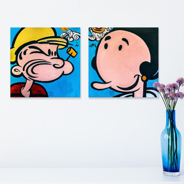 I Am - Popeye and Olive Oyl - shop.leboart.com