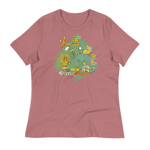 New Mastersounds – Lebo Women's Relaxed T-Shirt
