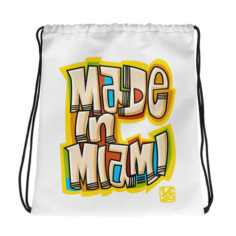 Made in Miami - Lebo Drawstring bag
