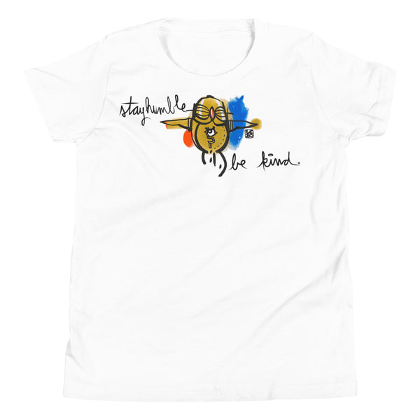 Stay humble and be kind - Lebo Youth Short Sleeve T-Shirt