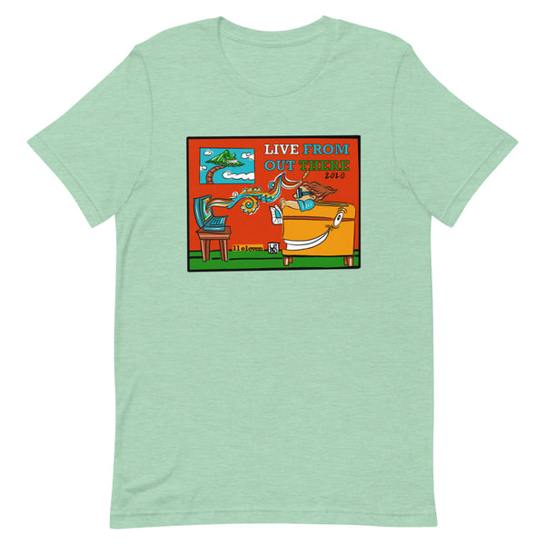 Live From Out There - Lebo Unisex Short-Sleeve T-Shirt