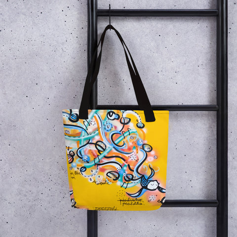 Infinite-Possibilities – Lebo Tote bag