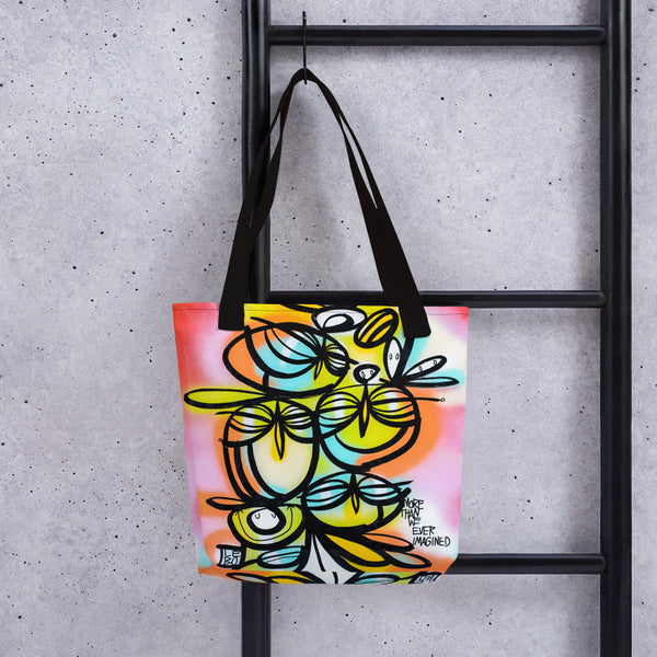 More Than We Ever Imagined – Lebo Tote bag