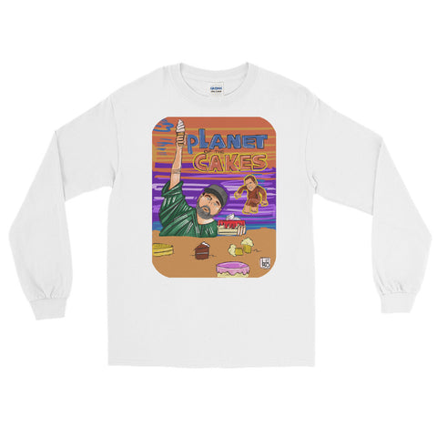 Dannywood - Planet of the Cakes (Starring Dan Le Batard) - Lebo Men's Long Sleeve Shirt