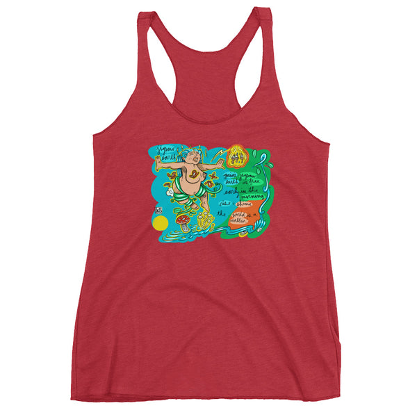 The Disco Biscuits - Lebo Collaborations - Lebo Women's Racerback Tank