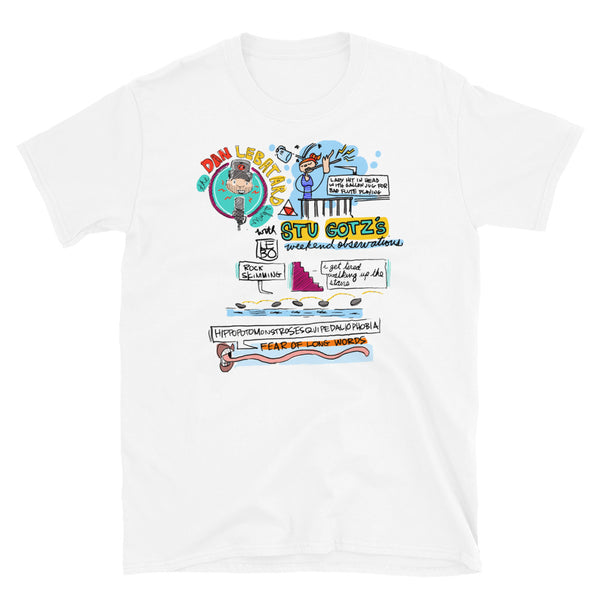The Dan Le Batard Show - 3/23/2020 – Lebo Short-Sleeve Unisex T-Shirt