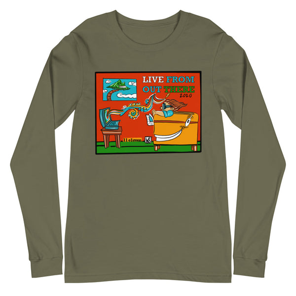 Live From Out There - Lebo Unisex Long Sleeve Tee