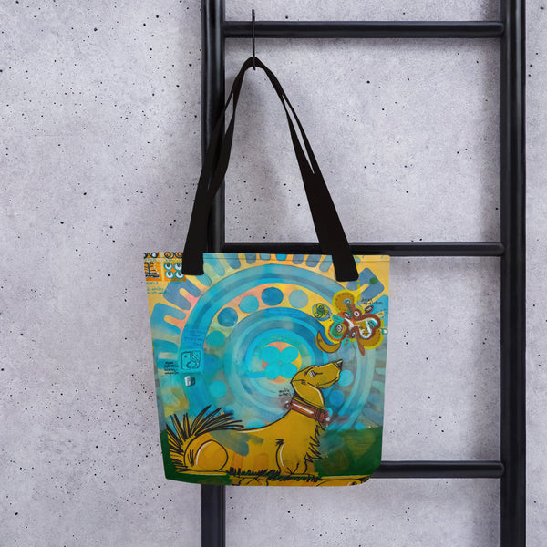 Gentle Witness – Lebo Tote bag